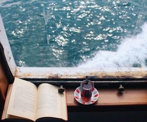 book, sea, and tea image