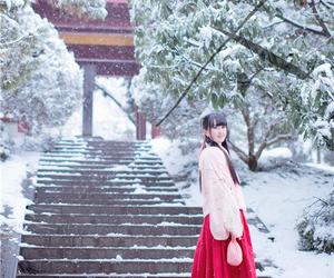 china, chinese dress, and dress image