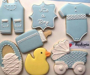 baby, boy, and Cookies image