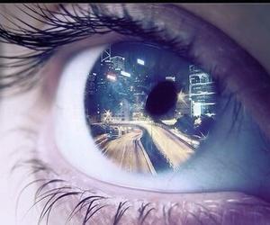 eye, Dream, and eyes image