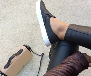 black, derbies, and shoes image