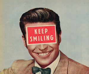 smile, vintage, and quotes image
