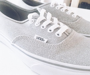 glitter, shoes, and vans image