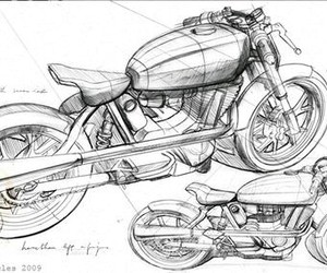 art, industrial design, and motorcycle image