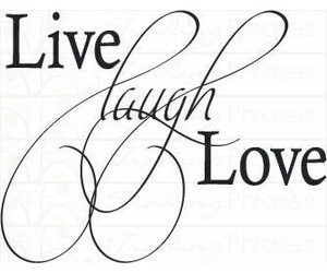 beautiful, laugh, and live image