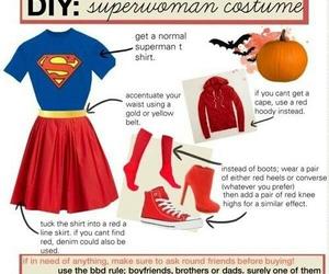 superman, diy, and Halloween image