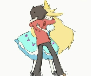 marco diaz, starco, and star butterfly image