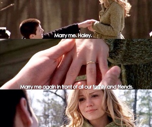 one tree hill, haley james, and nathen scott image