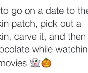 Halloween, pumpkins, and scary movies image
