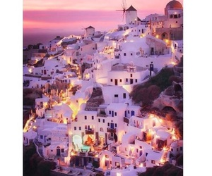 Greece, lights, and city image