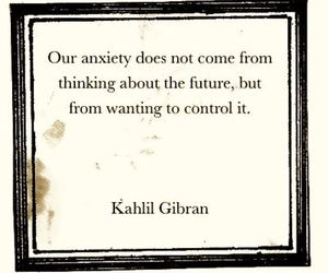 anxiety and quote image