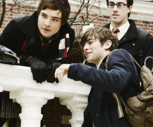 Chace Crawford, ed westwick, and gossip girl image