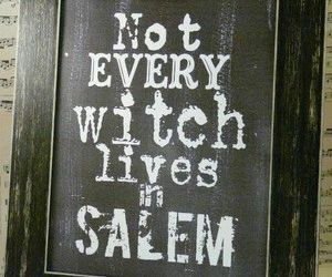 magic, salem, and spell image