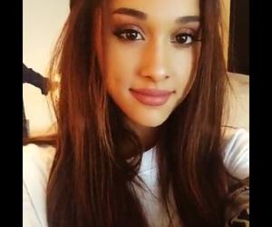 brunette, singer, and smile image
