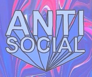 wallpaper, antisocial, and grunge image