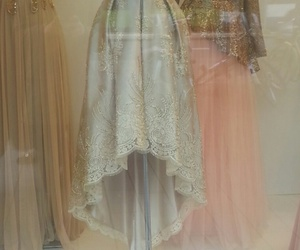 bride, dress, and weding image