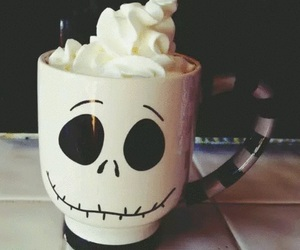 Halloween, cup, and coffee image