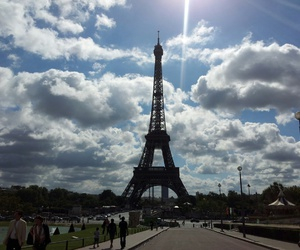 eiffeltower, france, and paris image
