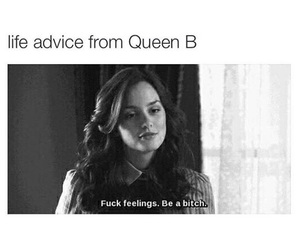 advice, gossip girl, and truth image