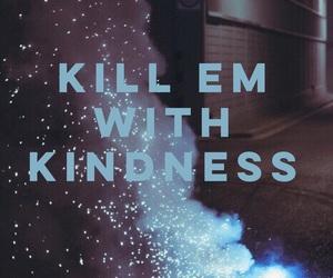 selena gomez, kill em with kindness, and Lyrics image