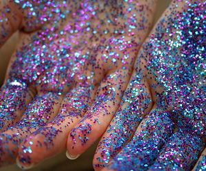 glitter, hands, and quality image