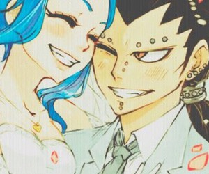 fairy tail and gajeel redfox image