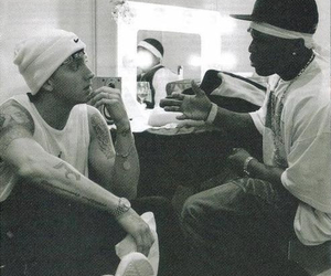 eminem, 50 cent, and rap image