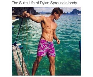 dylan sprouse, boy, and Hot image