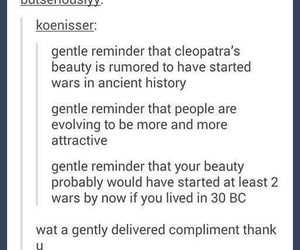 cleopatra, funny, and girls image