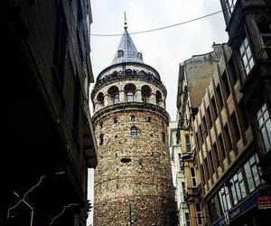 city, istanbul, and taksim image