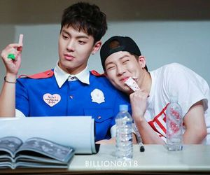 cute, jooheon, and shownu image