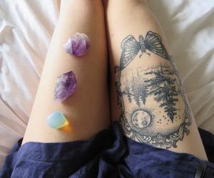 tattoo, beautiful, and gems image