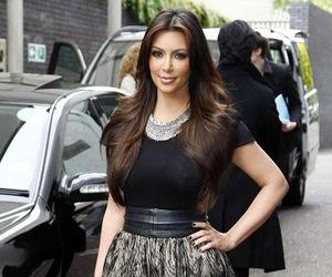 beautiful, kim kardashian, and hair image