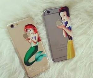iphone, disney, and princess image