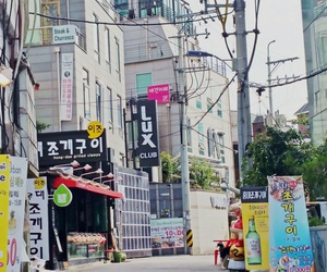 korea, art, and streets image