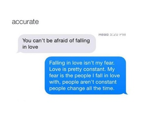 love, people, and fear image