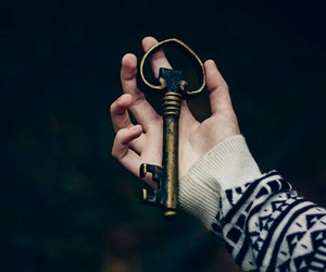 hipster, key, and love image