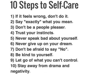 quotes and self-care image