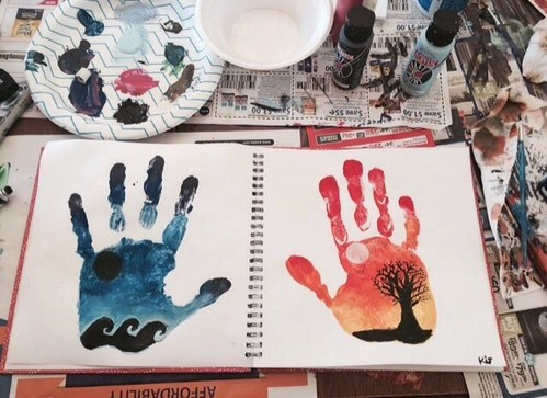 drawing, art, and painting image