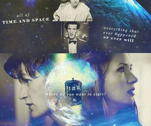 doctor who and amy pond image