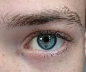 eye, boy, and pale image