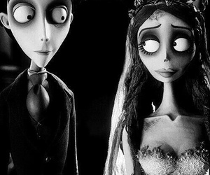 corpse bride, tim burton, and movie image