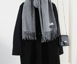 elegant, outfit, and scarf image