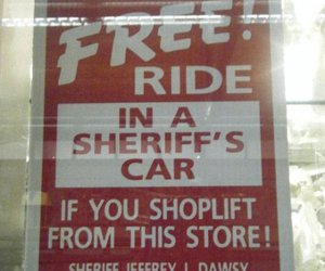 funny, sign, and signs image