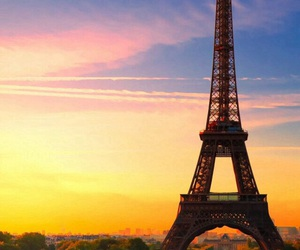 eiffel, france, and landscapes image