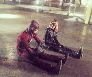 arrow, the flash, and grant gustin image