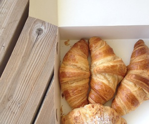 beautiful, brown, and croissants image