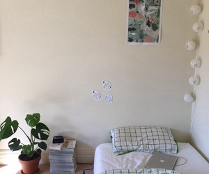 room, bedroom, and pale image