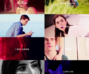 sam claflin, love rosie, and lily collins image