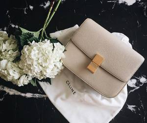 flowers, fashion, and celine image